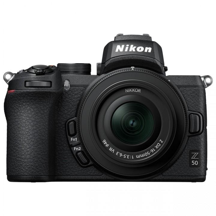 Nikon Z50 inkl. Nikkor Z DX 16-50 mm und FTZ-Adapter