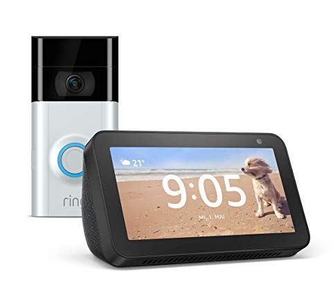 Ring Video Doorbell 2 plus Amazon Echo Show 5