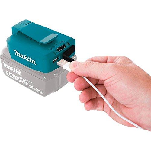 [ Amazon Prime] Makita DEBADP05 Akku-USB Adapter 18 V