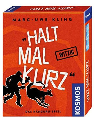 [Amazon Prime] [UPDATE s. Beschr.] »Halt mal kurz«, Das Känguru-Spiel. Kartenspiel von Bestsellerautor Marc-Uwe Kling. KOSMOS 740382