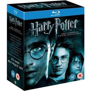 Blu-Ray - Harry Potter: The Complete 8-Film Collection (11 Discs) für €27,89 [@WowHD.de]