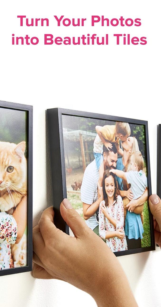 Mixtiles - selbstklebende Bilder. 40% Rabatt.