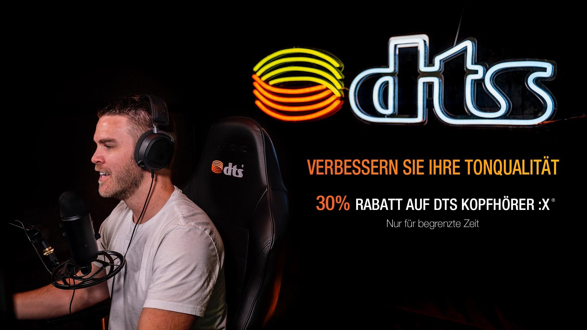DTS Headphone:X (WIndows 10) / DTS Sound Unbound inkl. DTS:X