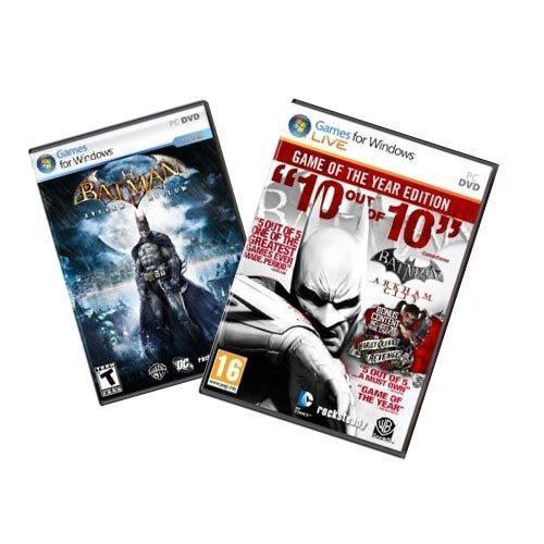 Batman Arkham - City GOTY & Asylum GOTY Pack (Steam aktivierbar) für 7.57€
