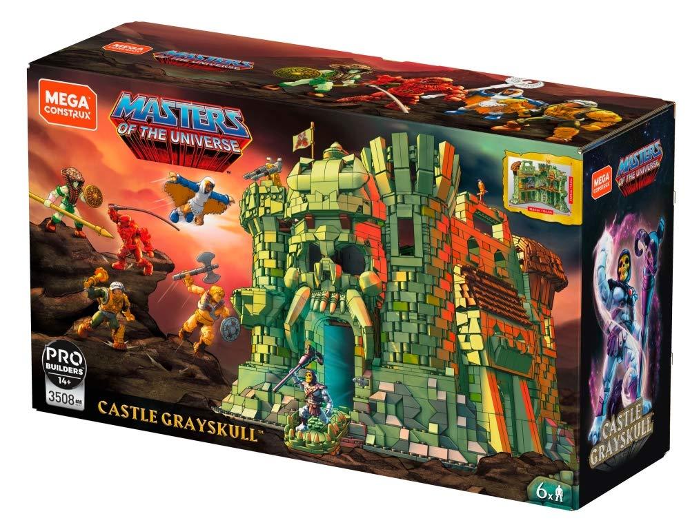 amazon.co.uk Mega Construx GGJ67 Masters of The Universe Castle Grayskull