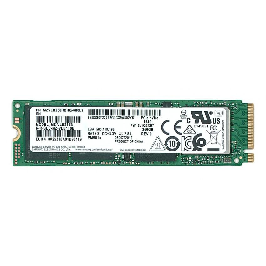 Samsung PM981A 256 GB NVMe SSD M.2 [bulk]