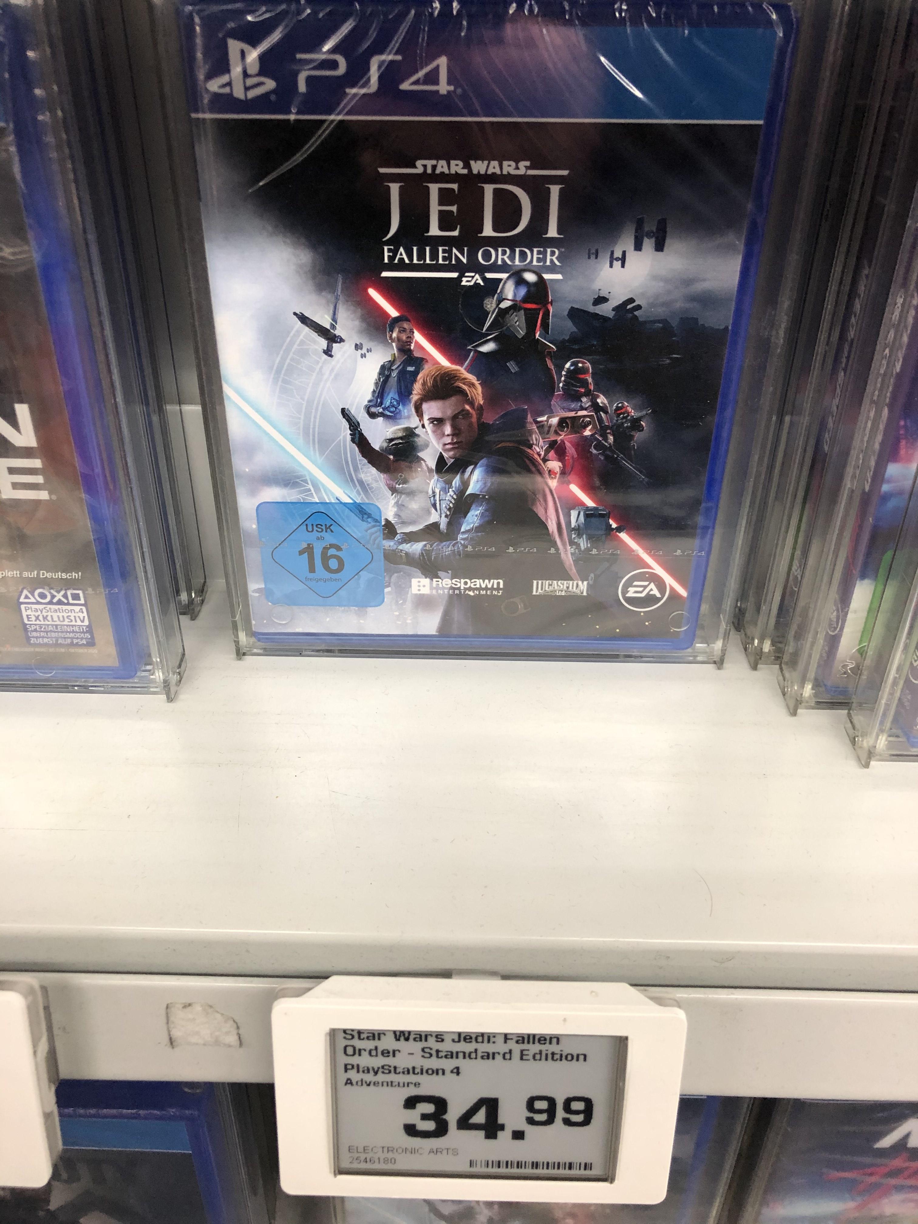 [LOKAL Saturn Hamburg Altstadt] Star Wars Jedi: Fallen Order PS4