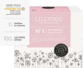 Lillydoo Windeln Größe 1, 2-3 kg, 20 St