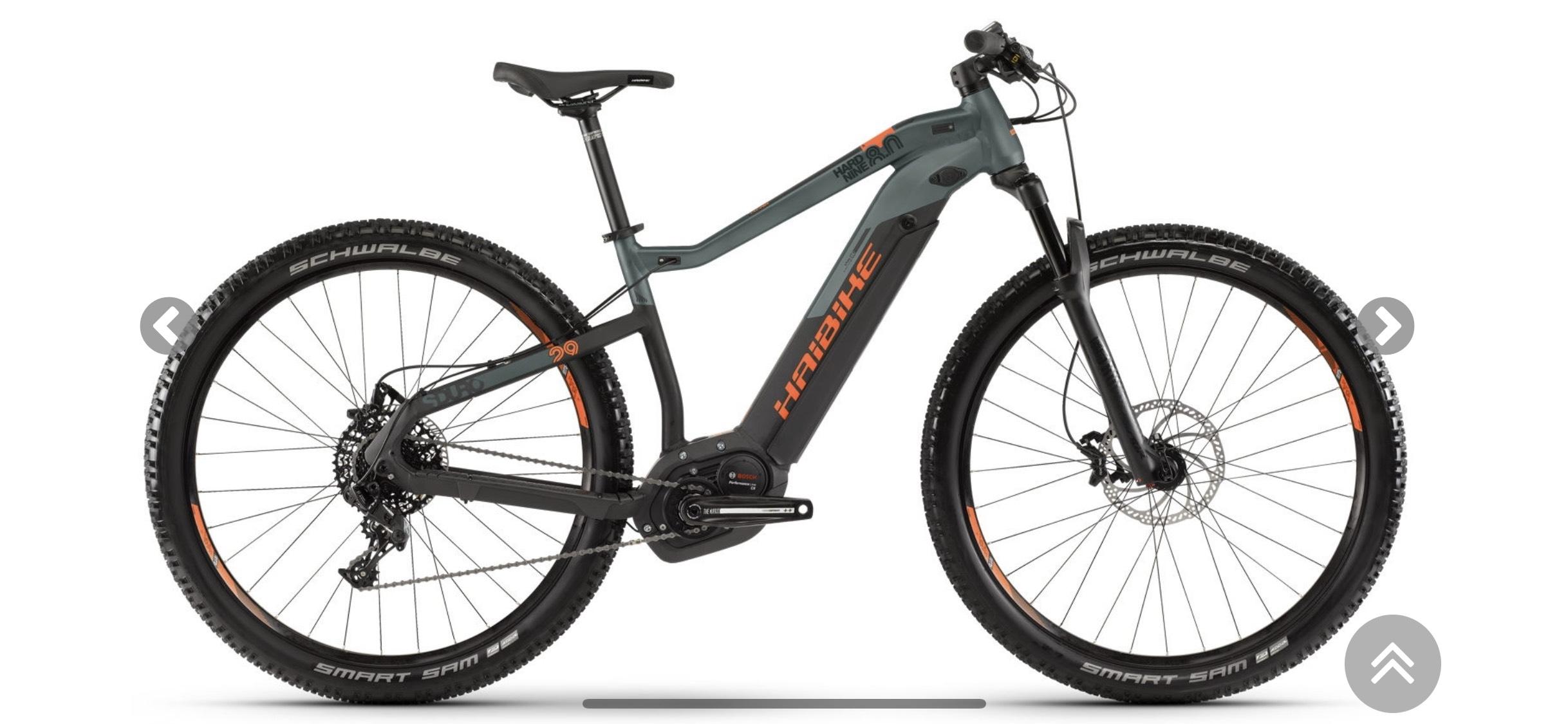"HAIBIKE - SDURO HardNine 8.0 29"" e-bike mit Bosch Performance Motor"