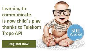 Telekom Developercenter 50€ Guthaben für Entwickler