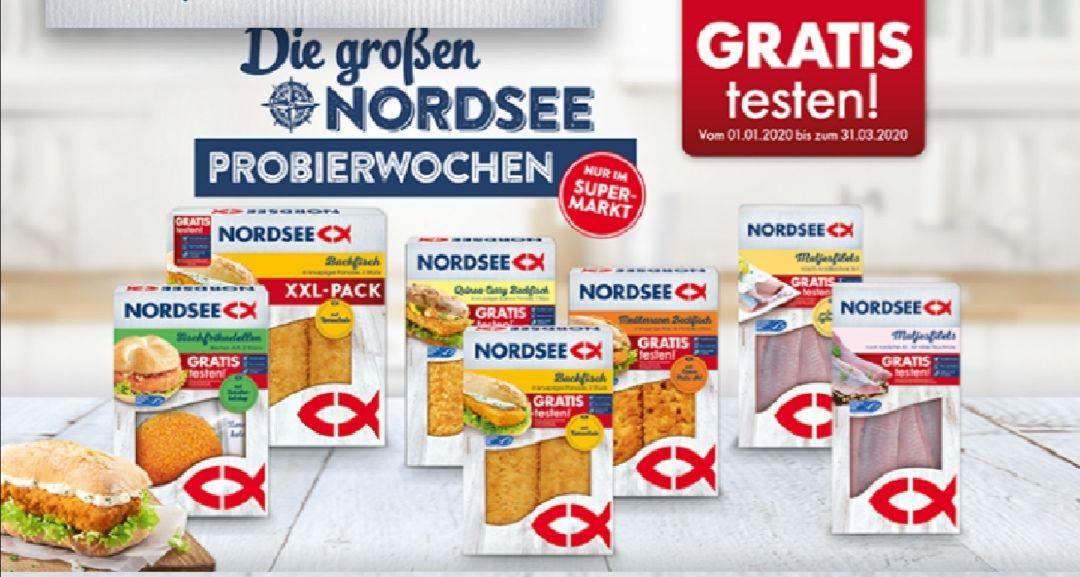 GRATIS testen 100% auf Nordsee Fischprodukte [GzG]