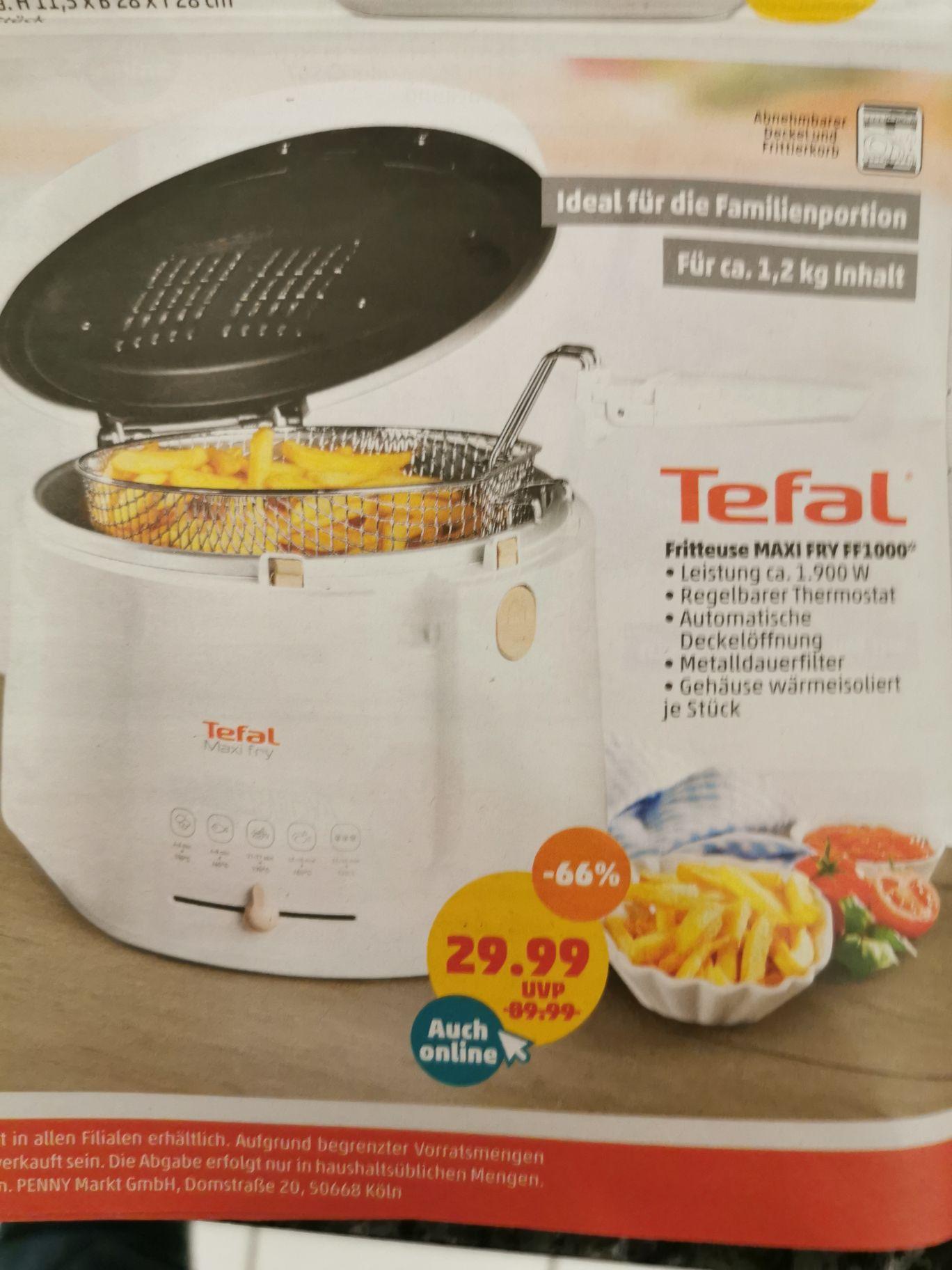 [Penny] Fritteuse Maxi Fry FF1100 Tefal