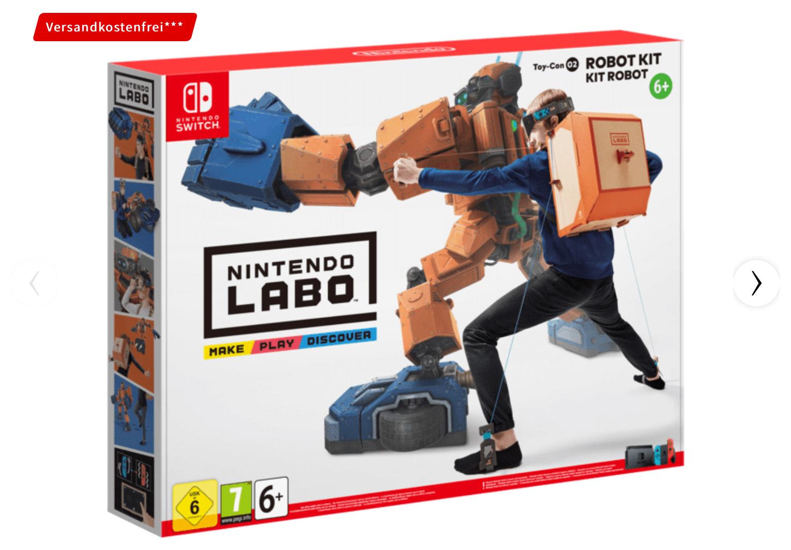 Nintendo Labo - SAMMELDEAL [Media Markt & Saturn]