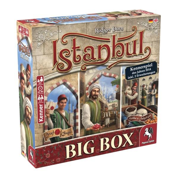 Istanbul Big Box (Brettspiel) bei Pegasus als Live-Shopping Angebot ab 16 Uhr