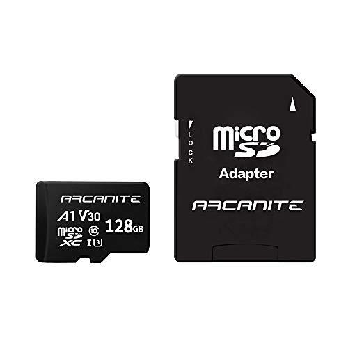 ARCANITE 128 GB microSDXC-Speicherkarte mit Adapter