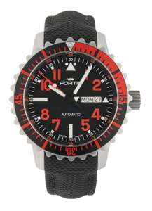 Fortis Aquatis Marinemaster Day/Date Automatik Rot 670.23.43 LP