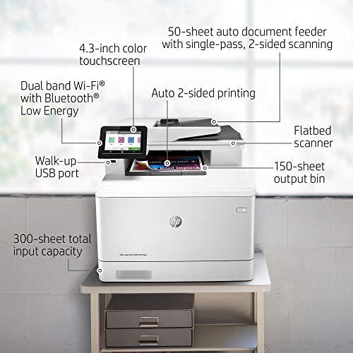 HP Color LaserJet Pro M479fdw Multifunktions-Farblaserdrucker