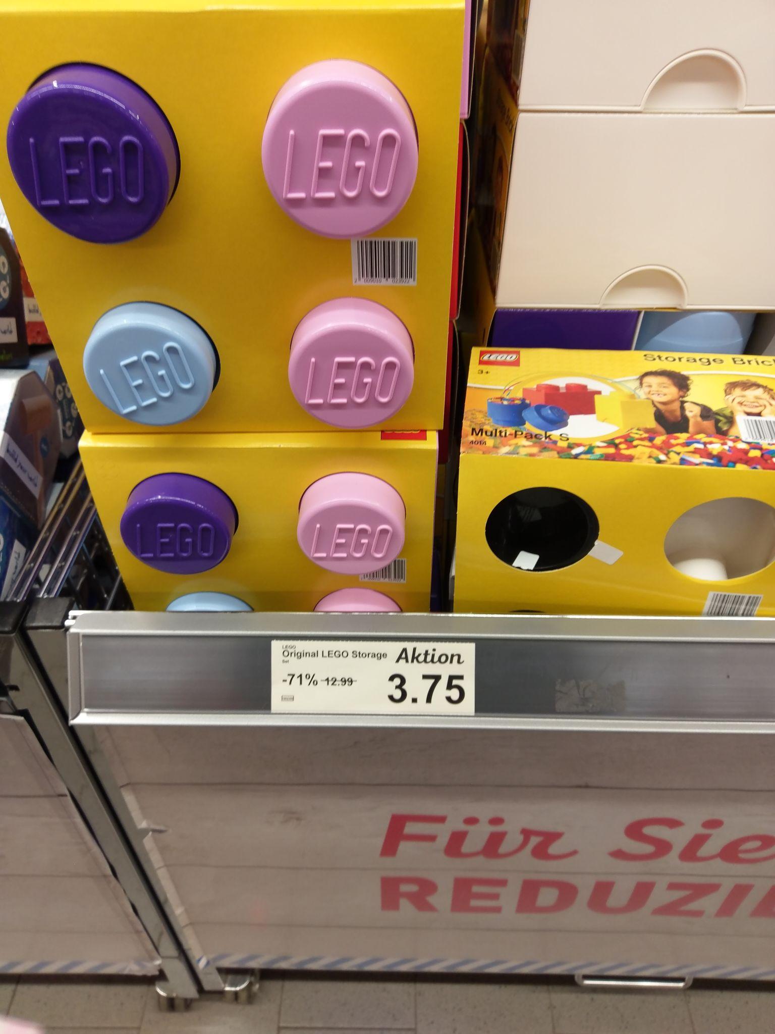 (Lokal Aldi Nord Berlin Lichtenberg) Lego Storage Box 4014 Aufbewahrungsbox 3 Steine