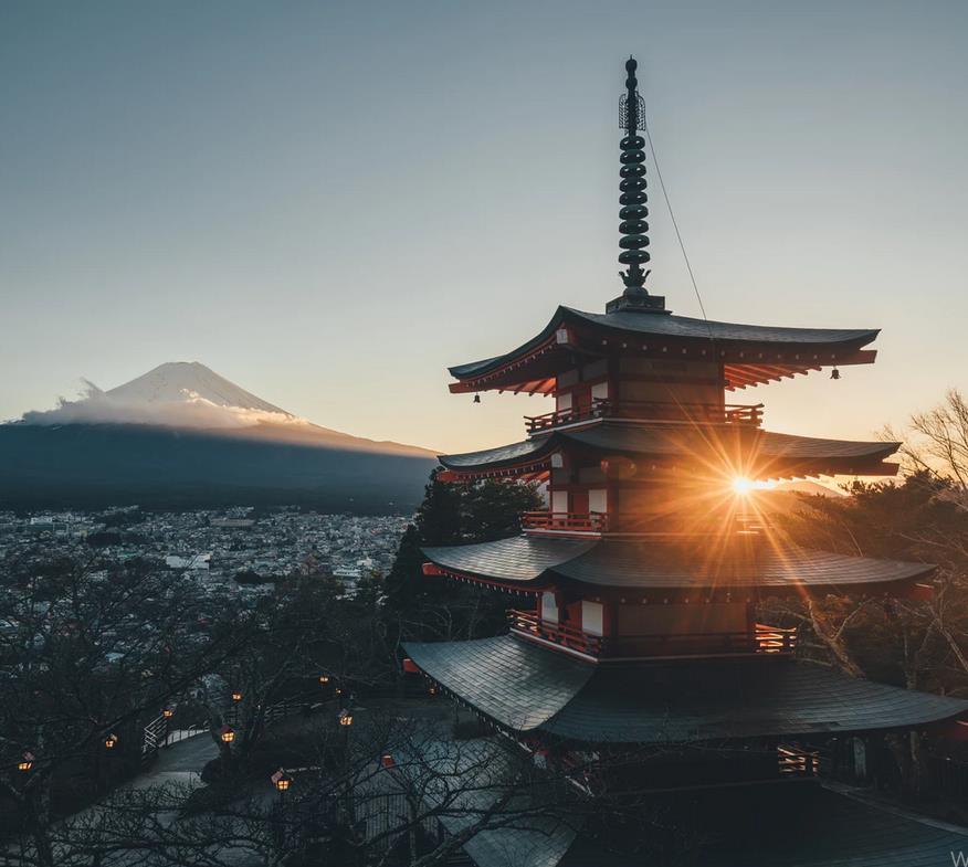 Flüge: Japan (Jan-Jun/Sept-Nov) Nonstop Hin- und Rückflug mit ANA und LH von Düsseldorf, Frankfurt und München inkl. Zug zum Flug ab 539€