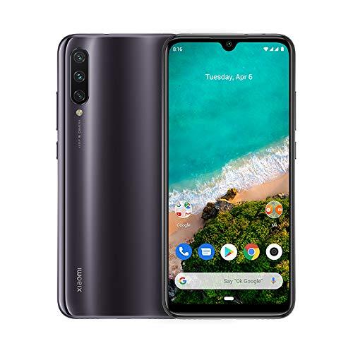 XIAOMI Mi A3, Smartphone, 64 GB, Kind of Grey, Dual SIM