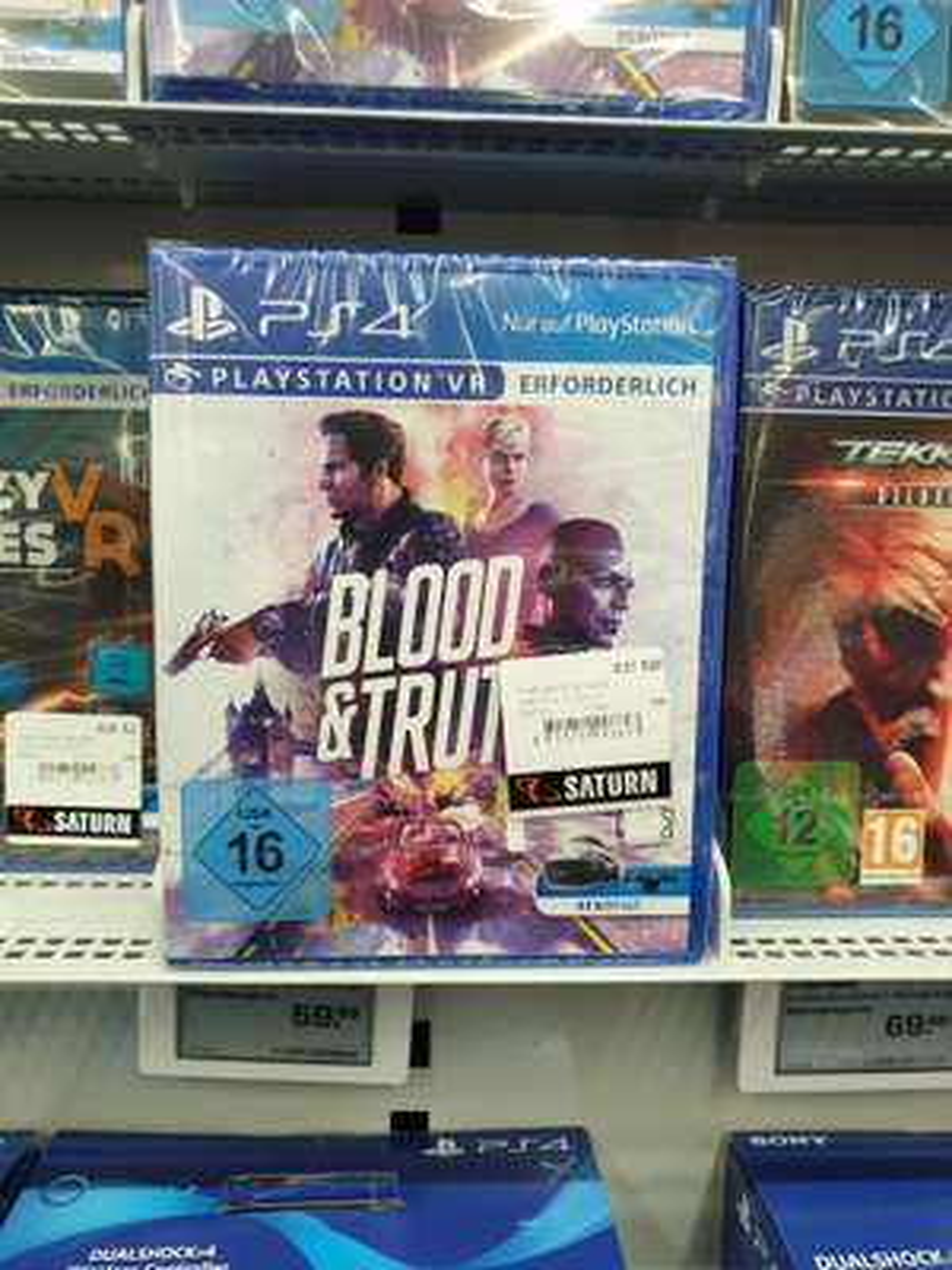(Lokal Pforzheim) Blood & Truth PS4 PSVR