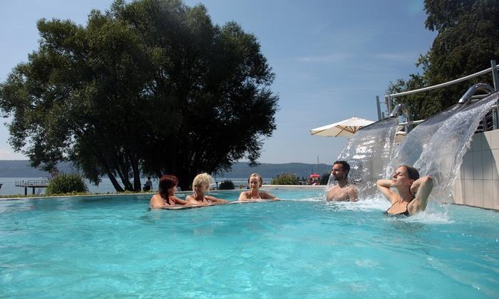 Tageskarten für diverse Freizeitbäder, Thermen und Saunen: z.B. Bodensee Therme Überlingen mit Sauna