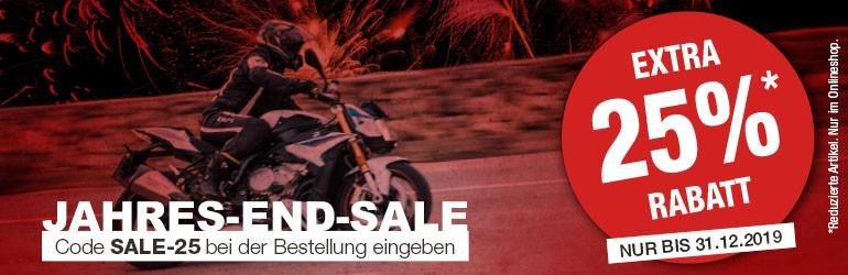 Motorradbekleidung > MotoPort gibt 25% zusätzlich auf Sale-Artikel