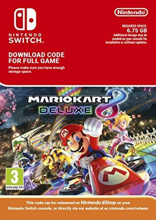 Mario Kart 8 Deluxe (Switch Digital Code) für 38,89€ (CDkeys)