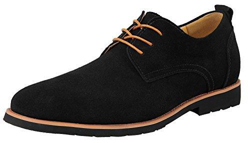 Herren Business Schuhe Anzugschuhe Oxford Wildleder Derby