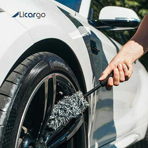 [AMAZON] LICARGO® Premium Mikrofaser Felgenbürste zur extrem schonenden und effektiven Reinigung hochwertiger Felgen (auch lackierte Felgen)