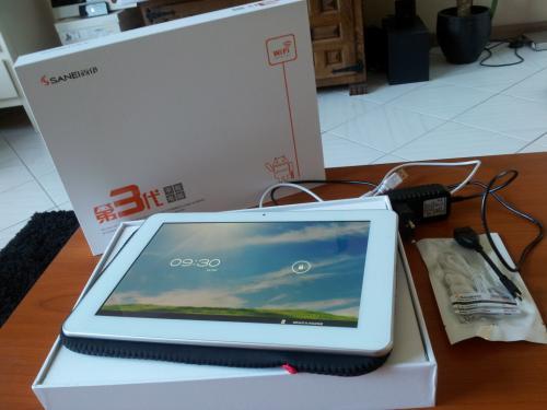 SANEI N10 10,1' Tablet 1280x800 Dualcore für 89$ (ca. 68€ zzgl. Zollgefahr) @ Aliexpress