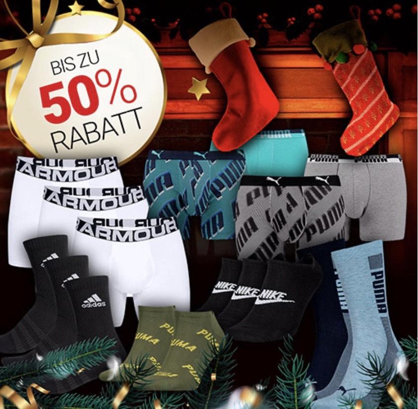 (Geomix) Bis zu -50% auf Boxershorts & Socken