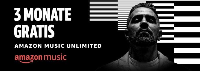 Amazon Music Unlimited 3 Monate kostenlos [Neukunden]