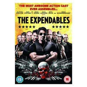 The Expendables DVD