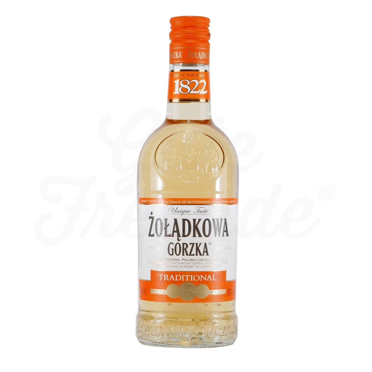 Zoladkowa Gorzka Wodka Traditional / Mint   0,5l 30-34% bei [Trink&Spare / lokal NRW] ab 23.12.