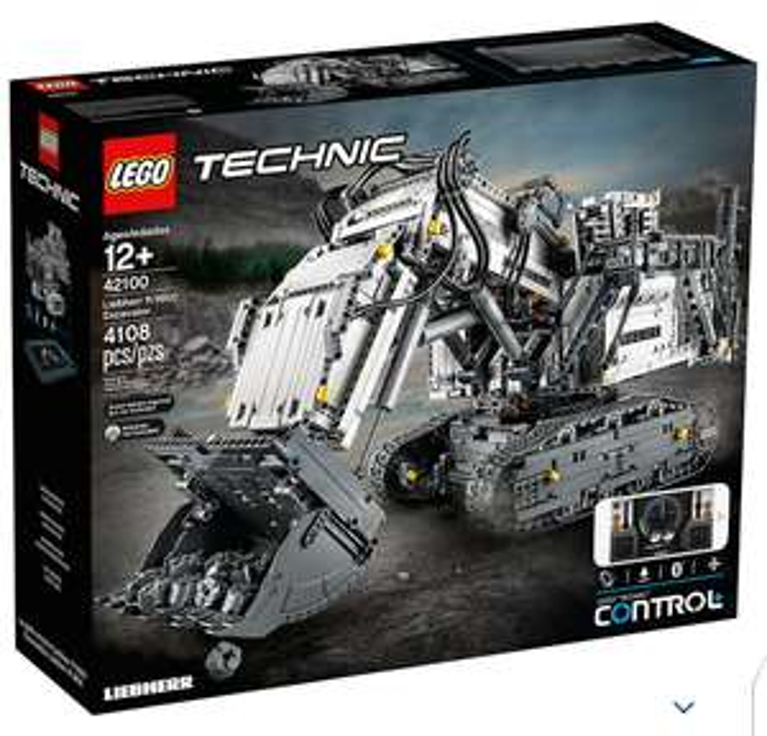 Lego Liebherr Bagger (42100) durch Cashback 297,67€ möglich