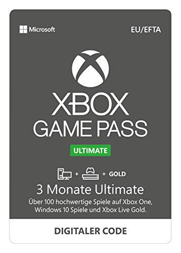 3 Monate Xbox Game Pass Ultimate (Xbox One / Windows 10 PC) für 16,49€ (Amazon & CDkeys