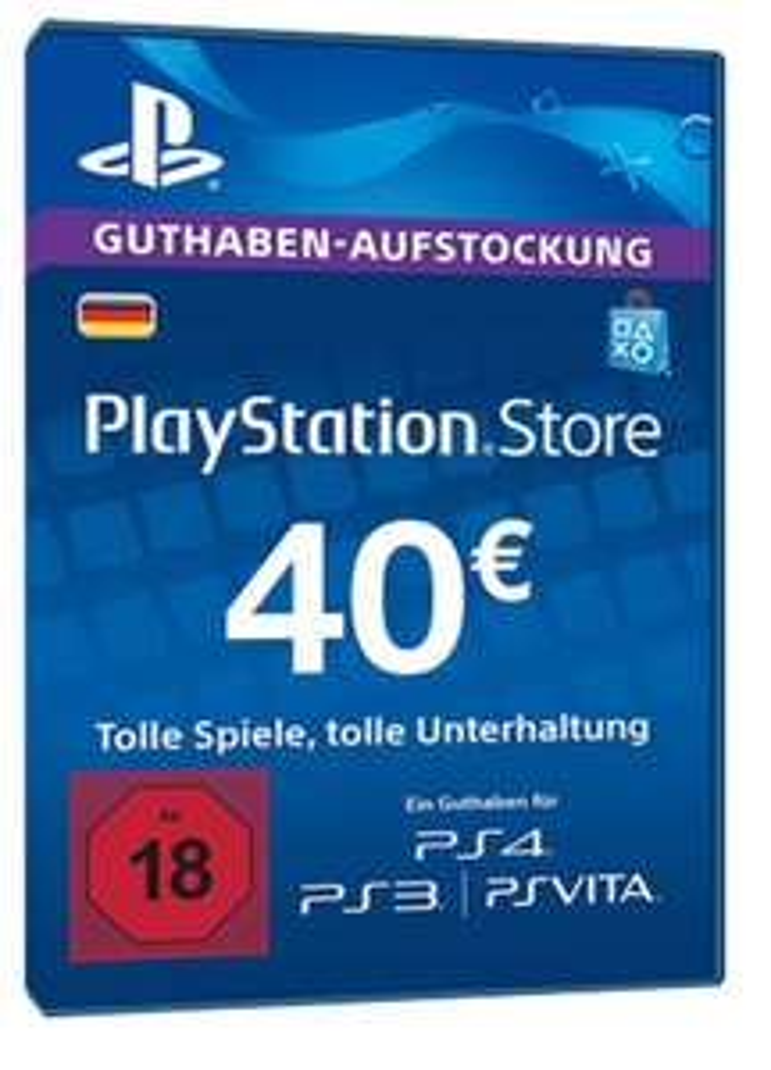 40€ PSN-Card
