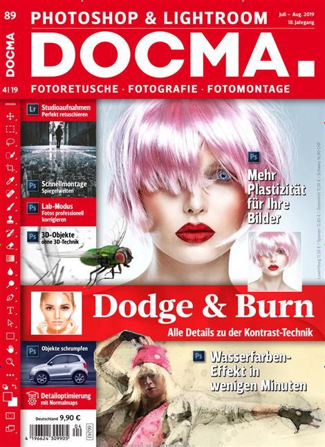 DOCMA Shop 5,- € Gutschein für Photohop & Lightroom ePaper
