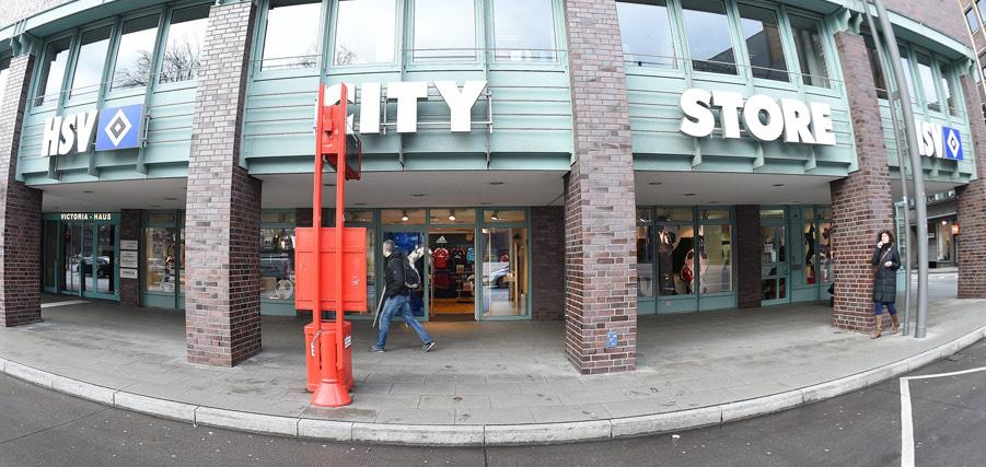 LOKAL 50% auf Alles im HSV City Store 23. - 24.12