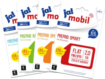 [Rewe] [Payback] Kostenloses Ja! Mobil Starter Paket Telekom Netz LTE 25 (ggf. Personalisiert)