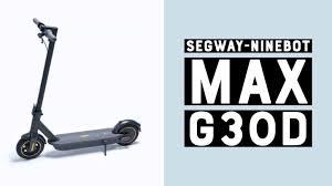Digitalo.de/ Segway KickScooter MAX G30D powered by E-Scooter Dunkelgrau Li-Ion 36V 15.3Ah Straßenzulassung: Deutschland