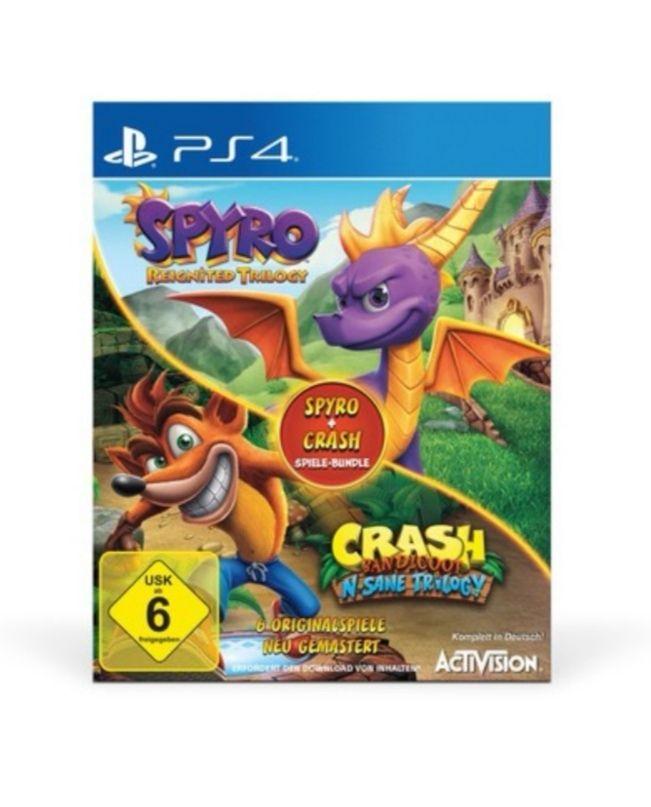 Spyro Reignited Trilogy + Crash Bandicoot N.Sane Trilogy Bundle (PS4)
