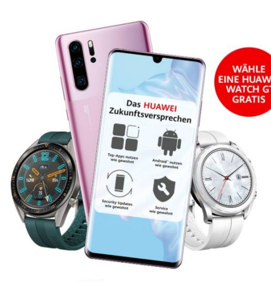 [Unidays Young GigaKombi] Huawei P30 Pro und Watch GT elegant im Vodafone Young M (17GB LTE, GigaPass) mtl. 28,39€ einm. 5,99€