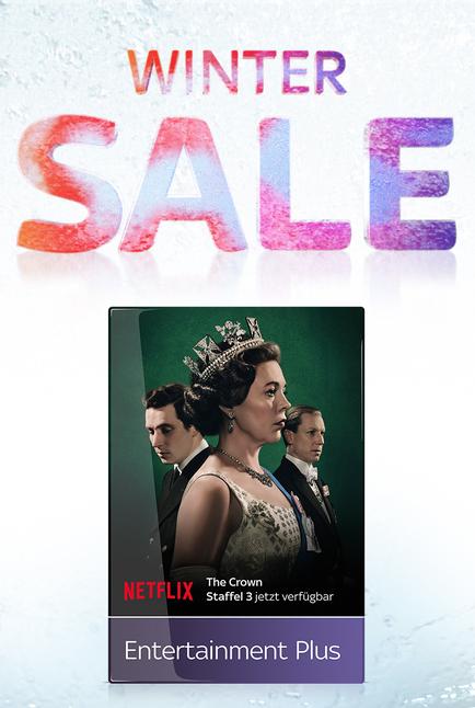 (Bestandskunden)Sky Entertainment Plus Paket * Netflix * für die ersten 6 Monate für 4€ statt 8€