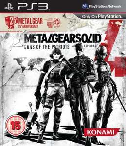 Metal Gear Solid 4: 25th Anniversary Edition für 16,45 Euro @ Hut.com