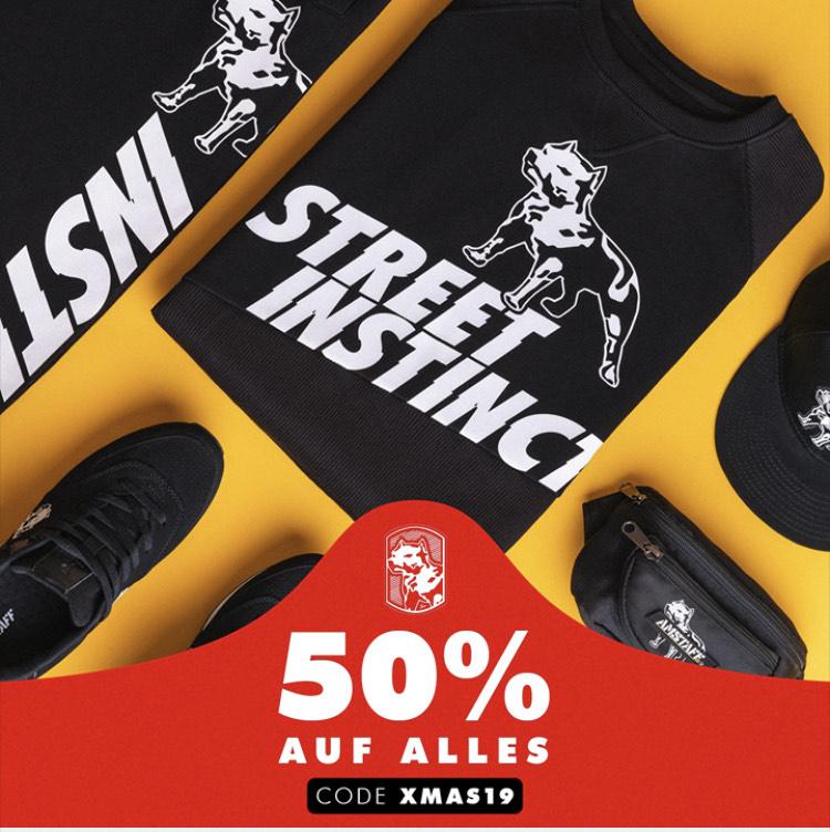 AMSTAFF STREETWEAR 50% auf alles Gutschein [XMAS19]