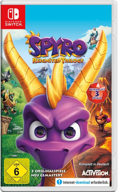 Spyro Reignited Trilogy - Switch Eshop