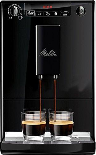 Melitta Caffeo Solo E 950-222 Kaffeevollautomat (Exzellenter Kaffee-Genuss dank Vorbrühfunktion und herausnehmbarer Brühgruppe)