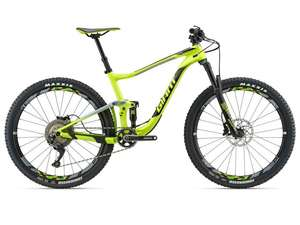 "MTB Giant Anthem Advanced 2 27""5 Zoll (Carbon Rahmen + Felgen/SLX/12.1kg) - 2018 (S bis XL)"